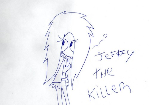 Jeff the killer Обои possibly with a paper towel called Jeffy The Killer ♥