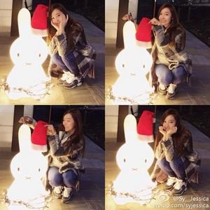 """[131210] Jessica - """"Weibo"""" mises à jour"""