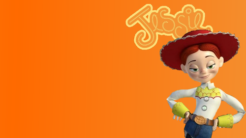 Jessie (Toy Story) wallpaper titled Custom Jessie Wallpaper (widescreen)