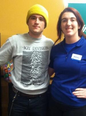 Josh with a tagahanga in Kentucky