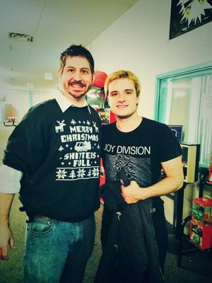 Josh with a peminat today (12/12/13)