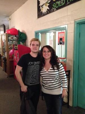 Josh with a tagahanga (12/12/13)
