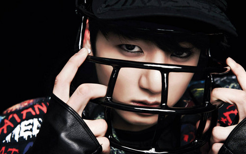 Jungkook (BTS) پیپر وال containing a football ہیلمیٹ titled ♥ º ☆.¸¸.•´¯`♥ Jungkook! ♥ º ☆.¸¸.•´¯`♥