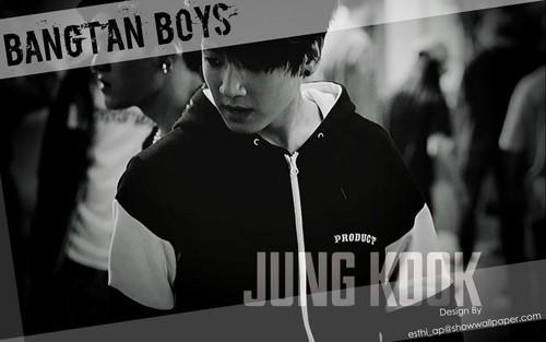 jungkook (bts) wallpaper with a sign entitled ♥ º ☆.¸¸.•´¯`♥ Jungkook! ♥ º ☆.¸¸.•´¯`♥