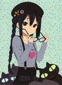 Azunyan     - k-on fan art