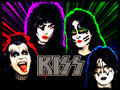 KISS ~Paul, Gene, Tommy and Eric - kiss wallpaper