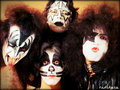 KISS ~Paul, Gene, Ace and Peter - kiss wallpaper