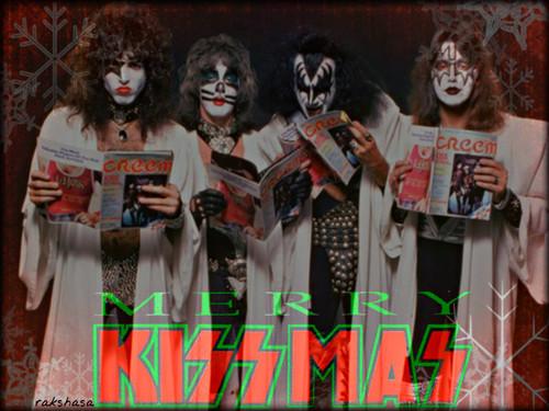 KISS wallpaper titled Merry KISSmas