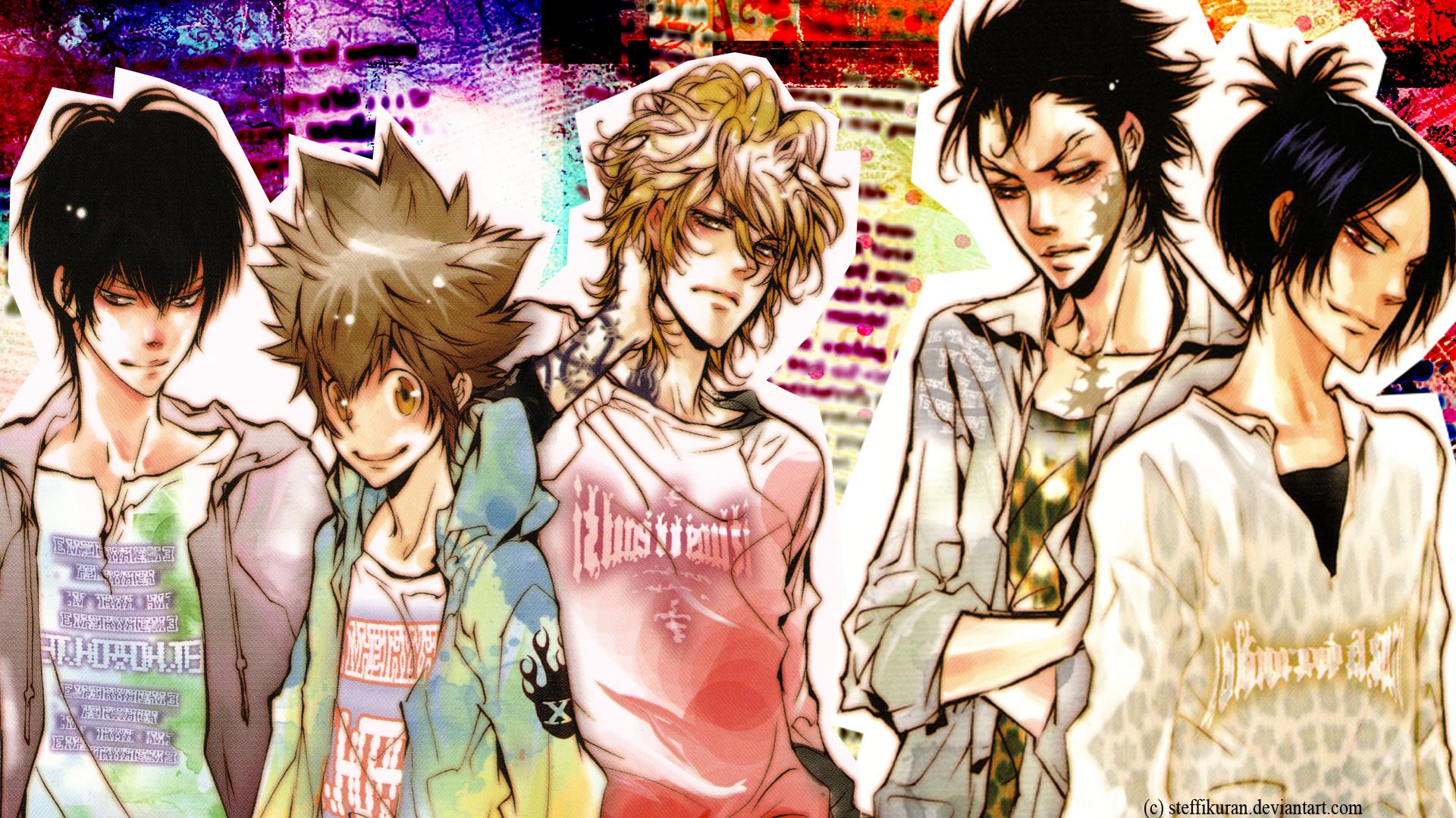 tsuna sawada wallpaper hd