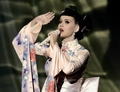 "Katy @ 2013 AMA perf. ""Unconditionally"" - katy-perry photo"