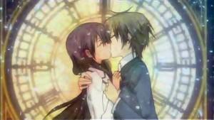 Hikari and kei किस