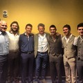 Celtic Thunder with David Foster - keith-harkin photo