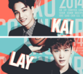 (¸.·¨¯`♥.♥ Kai and Lay! (¸.·¨¯`♥.♥ - kpop photo