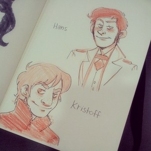 Kristoff and Hans