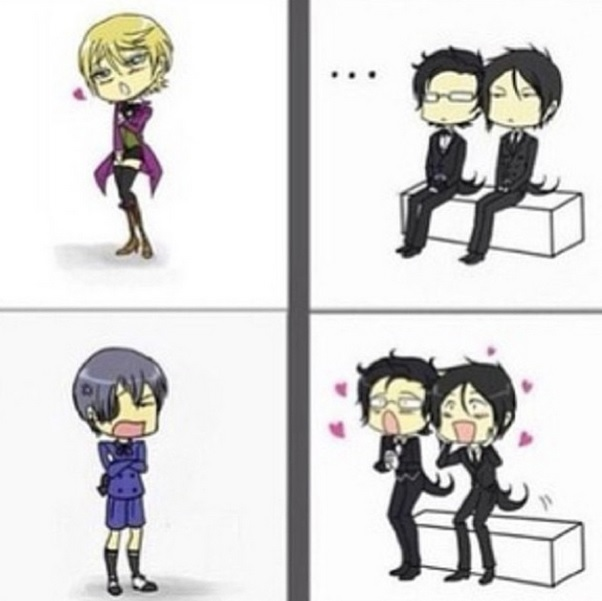 Ciel vs Alois