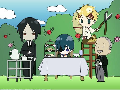Kuroshitsuji achtergrond containing anime called Kuroshitsuji