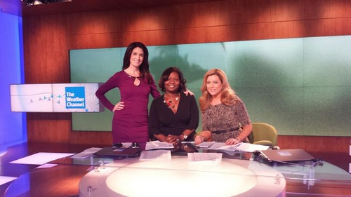 Kyla Grogan at The Weather Channel - (2013) - kyla-grogan Photo