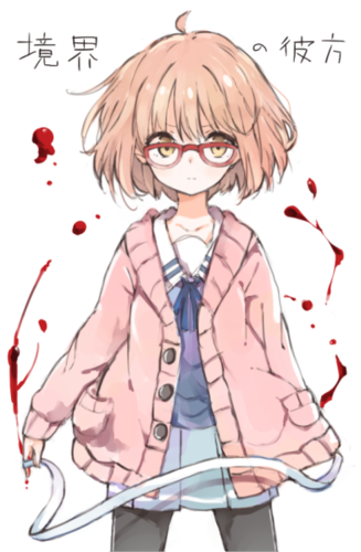 Kyoukai no Kanata wallpaper containing anime titled Mirai Kuriyama