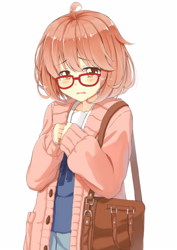 Kyoukai no Kanata wallpaper possibly containing anime titled Mirai Kuriyama