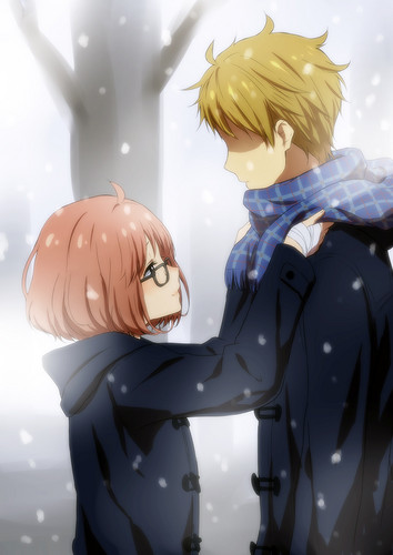Kyoukai no Kanata wallpaper probably with a bouquet called Kyoukai no Kanata