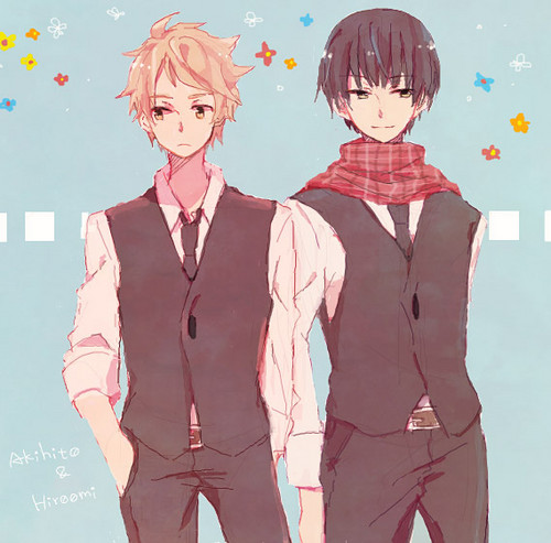 Kyoukai no Kanata wallpaper probably containing a business suit, a well dressed person, and a suit entitled Kyoukai no Kanata