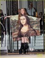 Lady GaGa In Mona Lisa Dress - lady-gaga photo