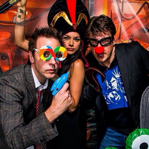Nathan and friends at Disneyland(December,2013)