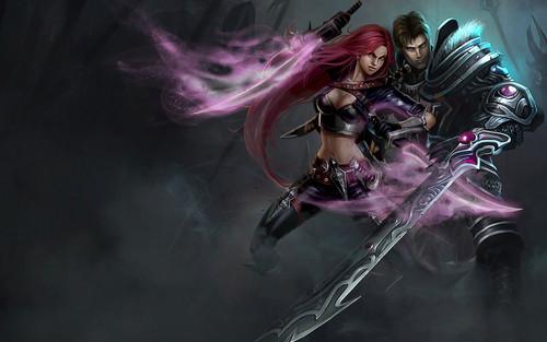 League Of Legends Wallpaper Called Katarina And Garen