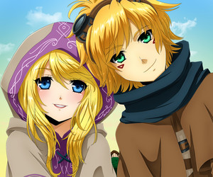 Lux and Ezreal