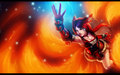 Fox Fire Ahri - league-of-legends wallpaper