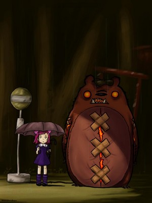 Annie x Totoro