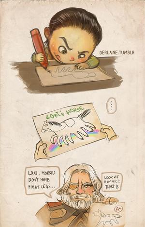 Loki's horse