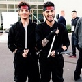 Louis and Zayn - louis-tomlinson photo