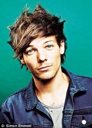 Louis Tomlinson fond d'écran with a portrait called Louis Photoshoot for Event Magazine
