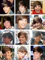 Louis' hair through the ages