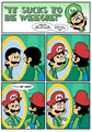 the secret of mario's hat - luigi photo