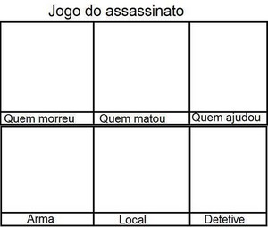 jogo do assassinato