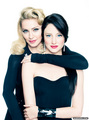 With Abbie Cornish 2011