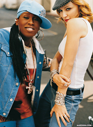 With Missy Elliott 2003