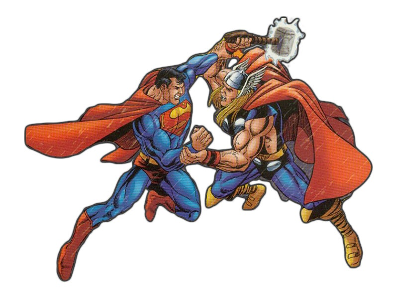 Супермен Vs Thor