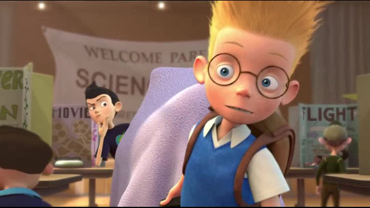 meet the robinsons original ending of vacation