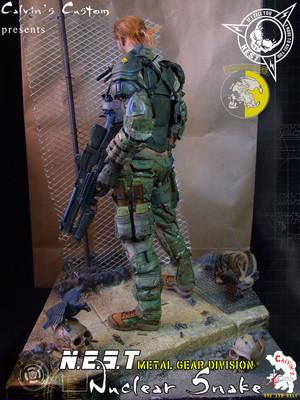Calvin's Custom Metal Gear N.E.S.T. Nuclear Snake custom one sixth scale figure