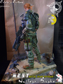 Calvin's Custom Metal Gear N.E.S.T. Nuclear Snake custom one sixth scale figure