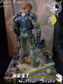 Calvin's Custom Metal Gear N.E.S.T. Nuclear Snake custom one sixth scale figure - metal-gear-solid photo