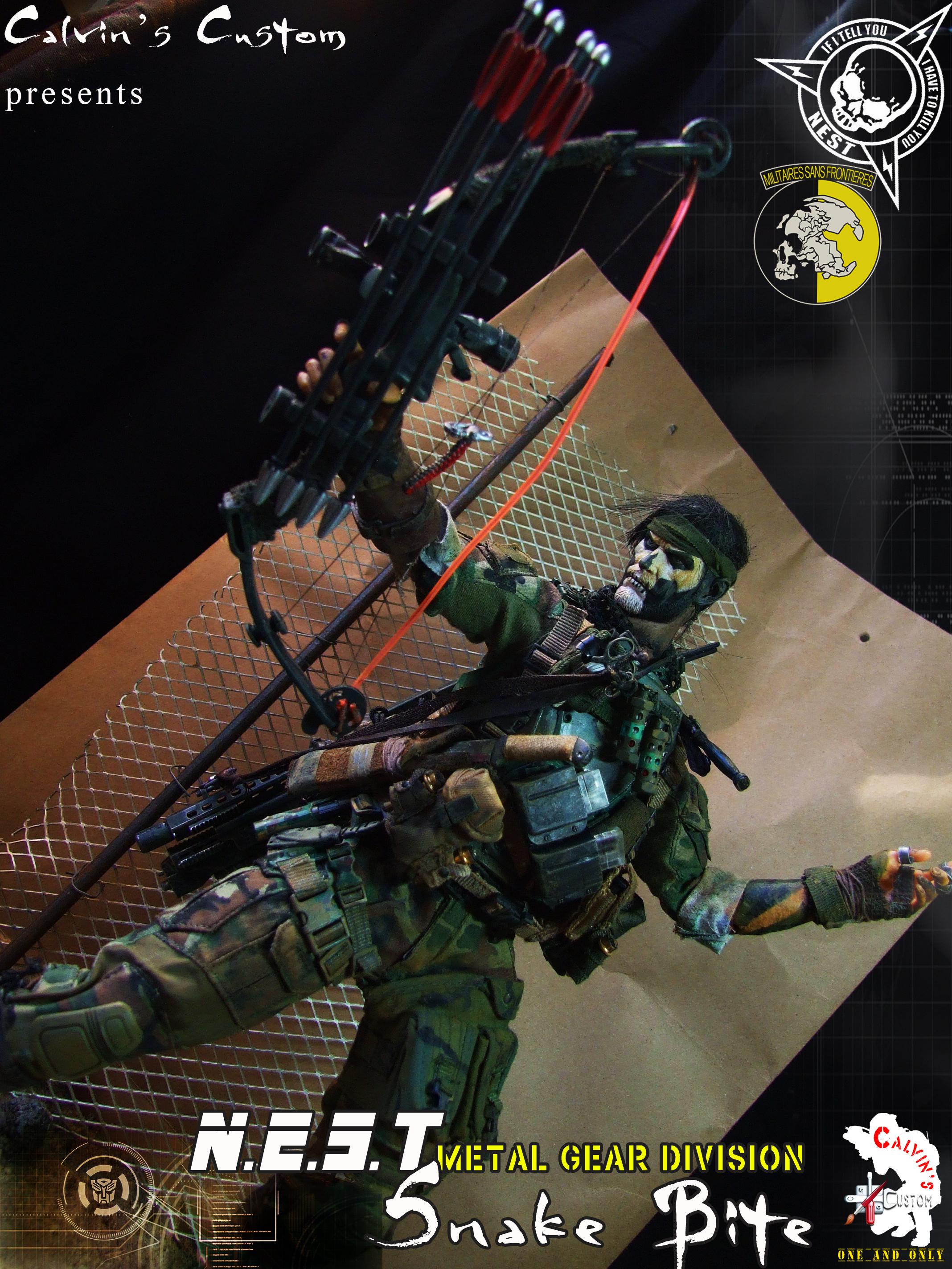 Metal Gear Solid - Solid & Liquid Snake - Metal Gear Solid
