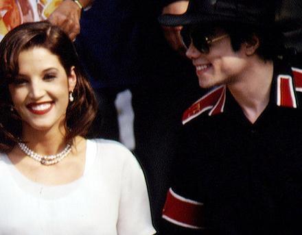 Michael Jackson and Lisa Marie wallpaper called Michael And Lisa Marie In Budapest Back In 1994