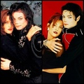 Lisa Marie and Michael - michael-jackson-and-lisa-marie fan art