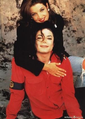 Mr. And Mrs. Michael Jackson