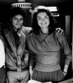 Michael And Jackie Kennedy Onassis - michael-jackson photo