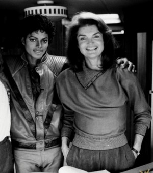 Michael And Jackie Kennedy Onassis